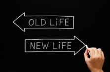 old life new life